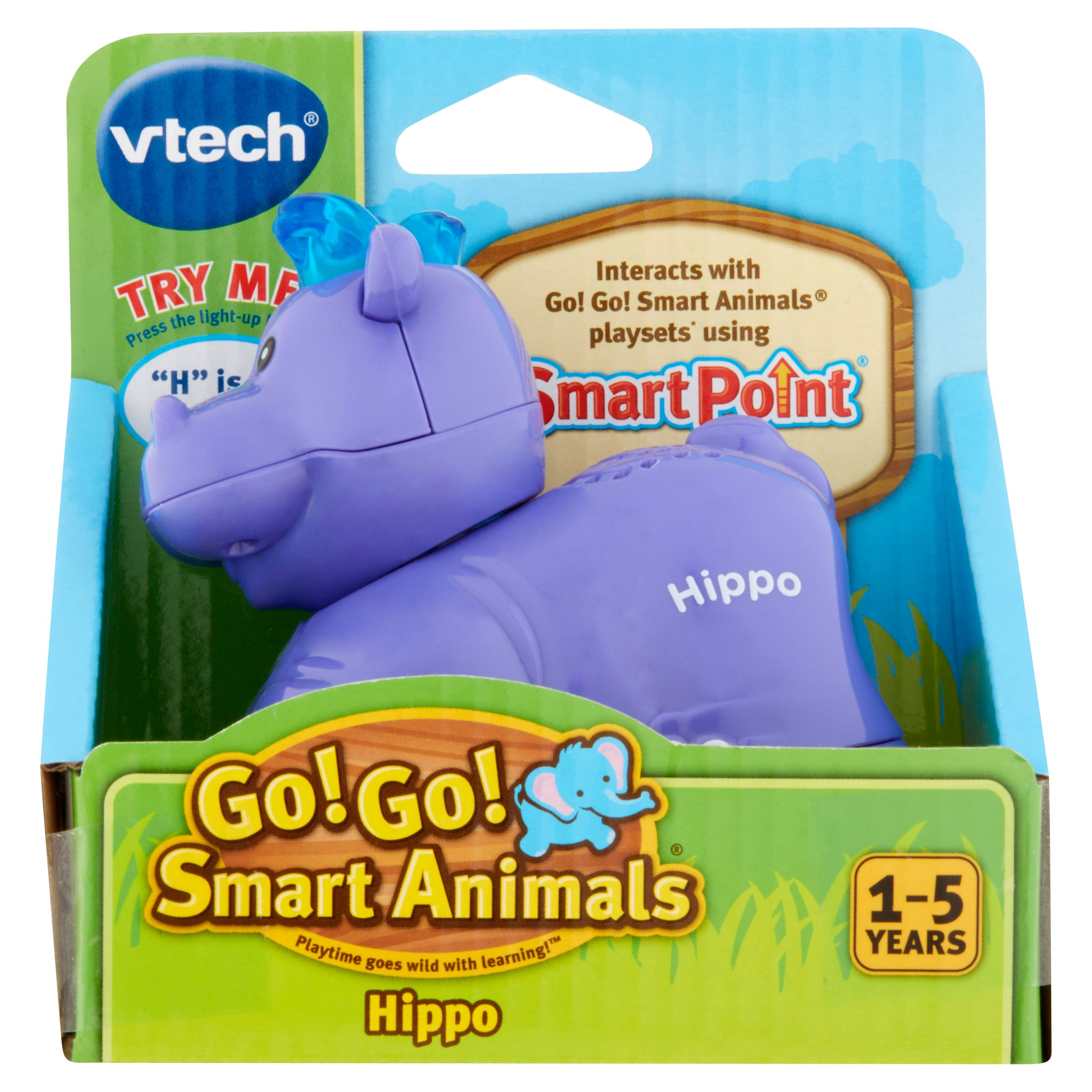 VTech Go! Go! Smart Animals Hippo Toy 1-5 years by VTech Electronics North America, L.L.C.