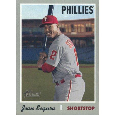 2019 Topps Heritage 450 Jean Segura Philadelphia Phillies Sp Baseball Card