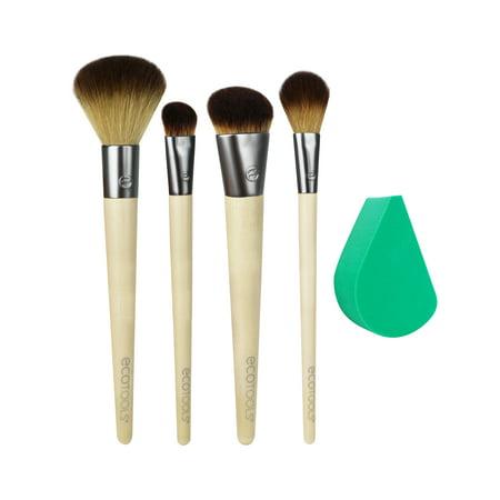 Ecotools Airbrush Complexion Kit Makeup Brush Set - Halloween Airbrush Makeup