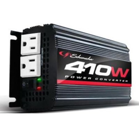 Schumacher 410W 820 Peak Power Converter For Mobile Entertainments &