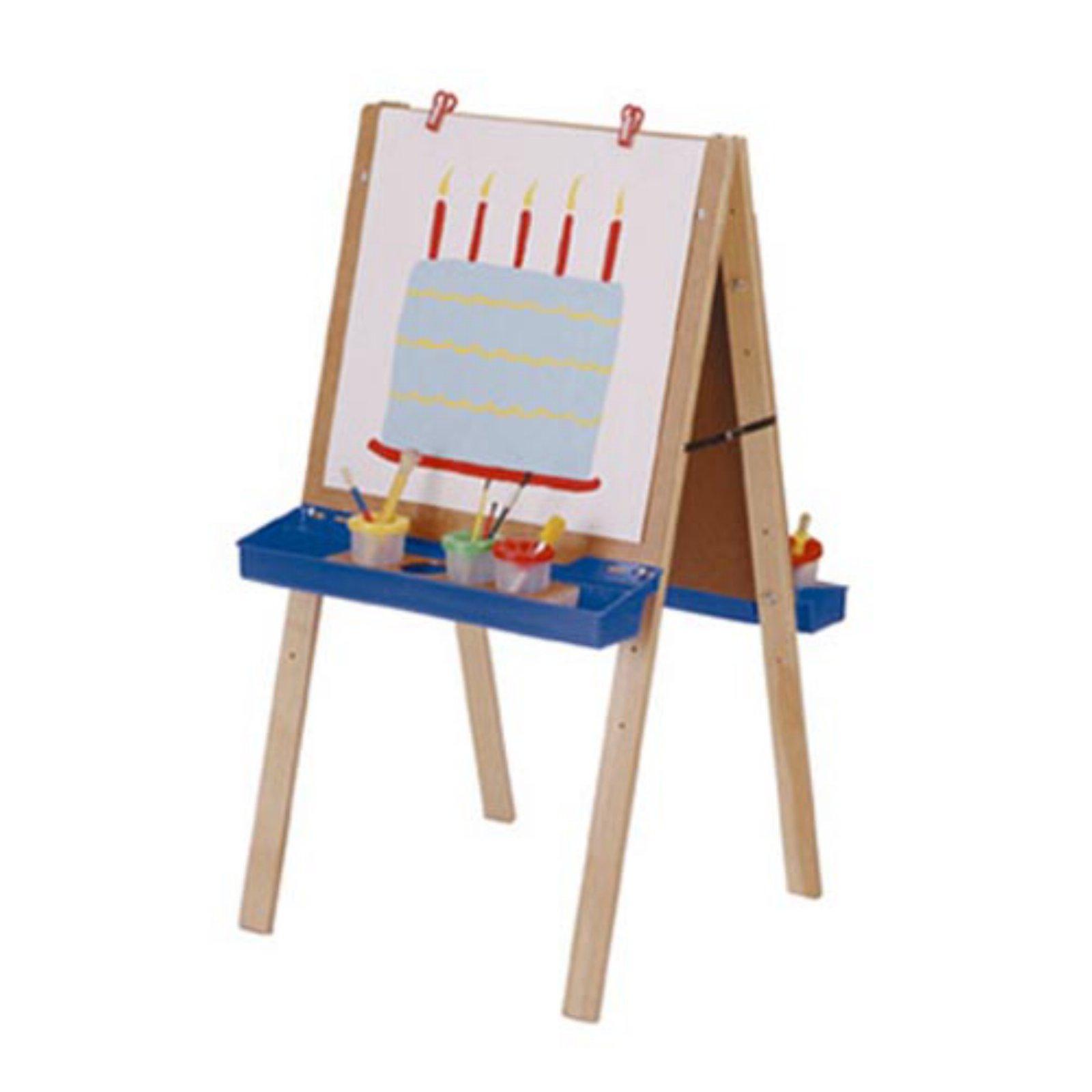 Jonti-Craft Primary Adjustable Childrens Easel