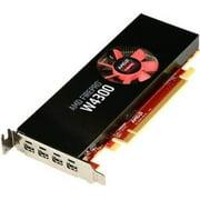 AMD FIREPRO W4300 4GB GDDR5 PCIE QUAD MINI DP LOW PROFILE