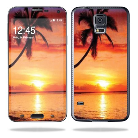 Samsung Cell Phone Skins - Skin Decal Wrap for Samsung Galaxy S5 Cell Phone sticker Sunset