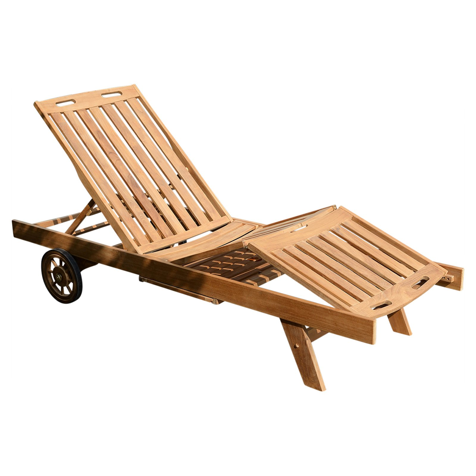 Cambridge Casual Teak Chaise Lounge