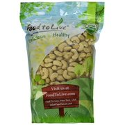 Food To Live ? Organic Cashews (Whole, Raw) (2 Pounds)