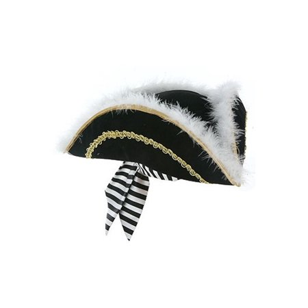 Girls Pirate Hat (Kids Captain Meyer Pirate Hat)