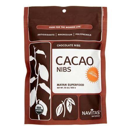 Navitas Naturals Organic Cacao Nibs, 16 Oz, 1 Count