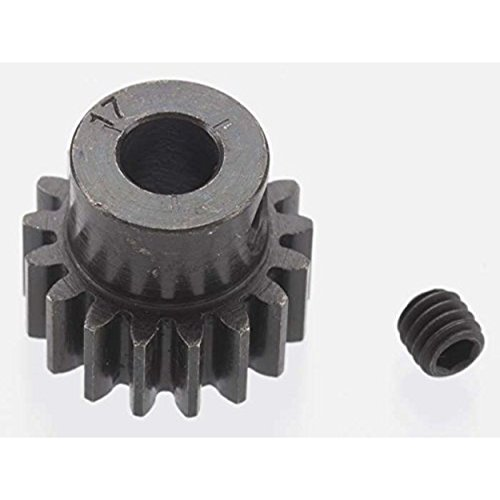 ROBINSON RACING 8617 Extra Hard 17T Blackened Steel 32P Pinion 5mm