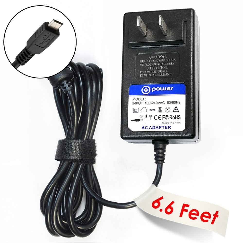 T-Power (6.6ft Long Cable) Ac Dc adapter for Microsoft Surface 3 Tablet ( 3YY-00001,4GY-00001 ) 7G6-00014 , 7G5-00015 Power Supply Cord (Rapid Charger)