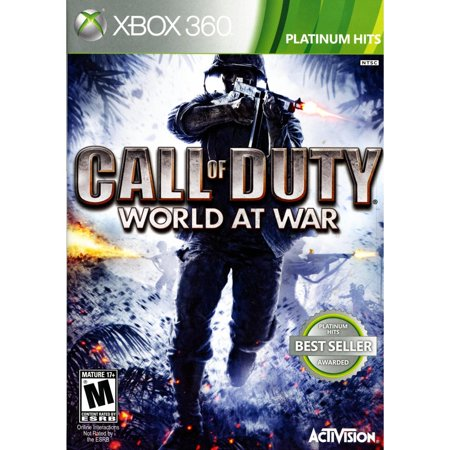 Video Games ETC! Call of Duty World At War Backwards Compatible, Activision, Xbox, 360, (D Day World War Ii Invasion Game)