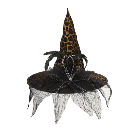 Halloween Witch Hat Festive - A Leopard Safari - Witch Hat Cupcakes