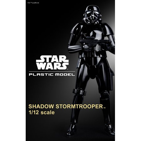 Bandai Hobby Star Wars Shadow Stormtrooper 1/12 Scale Model Kit ()