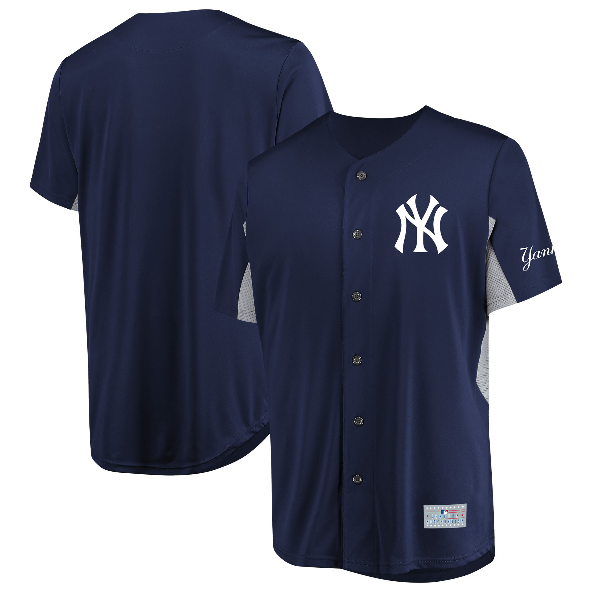 Men's Majestic Navy New York Yankees Champion Choice Jersey