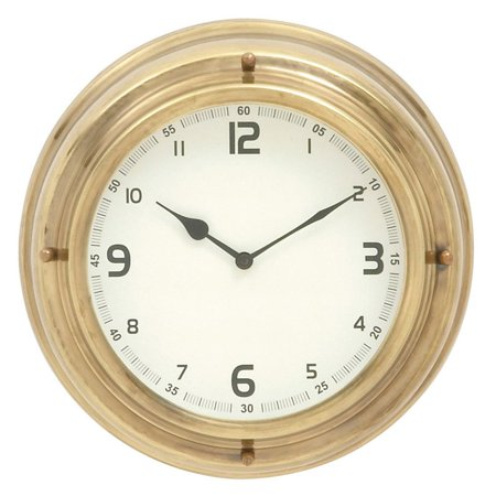 excellent stainless steel wall clock. Black Bedroom Furniture Sets. Home Design Ideas