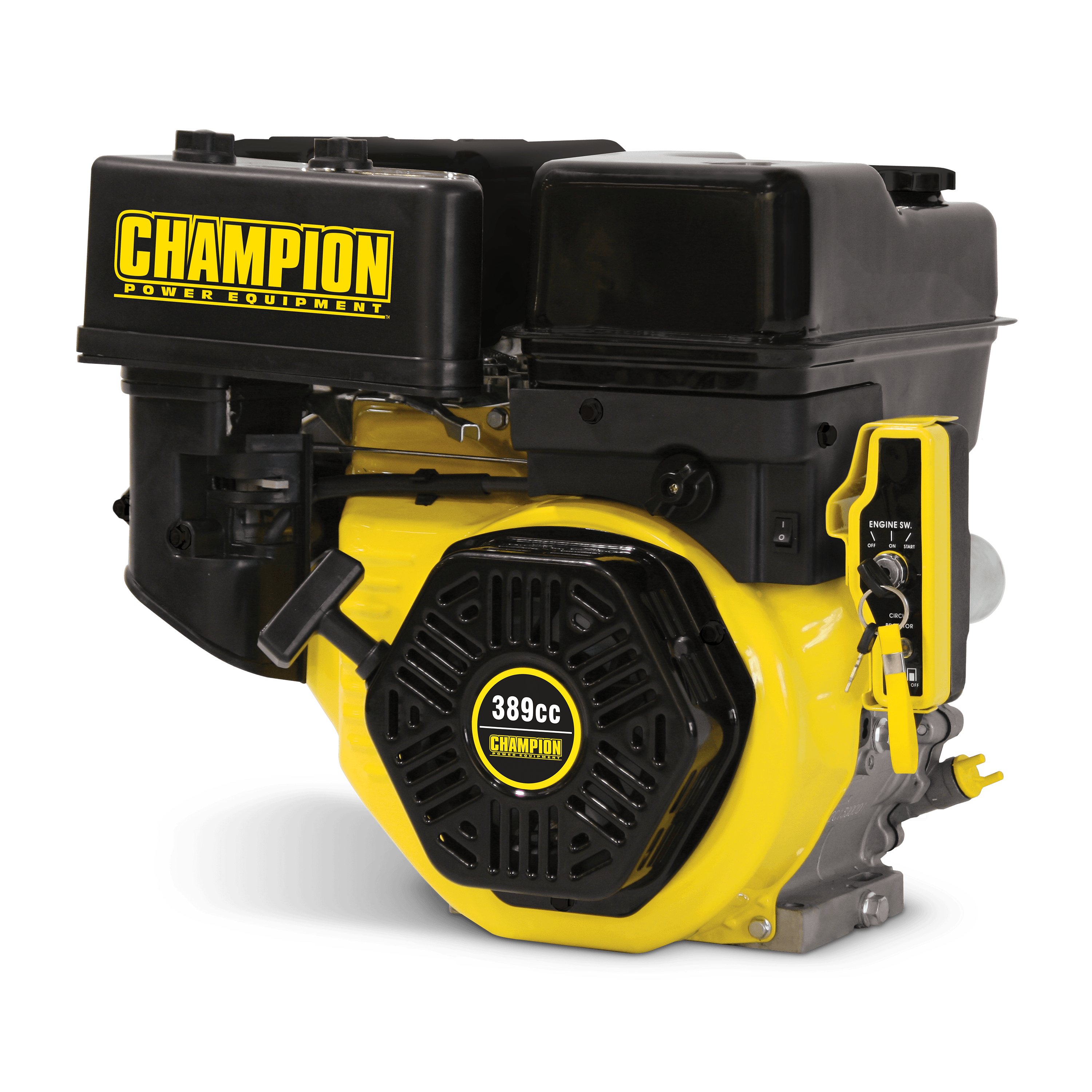 Champion 100221 389cc General Purpose Horizontal Replacement Engine with Electric Start