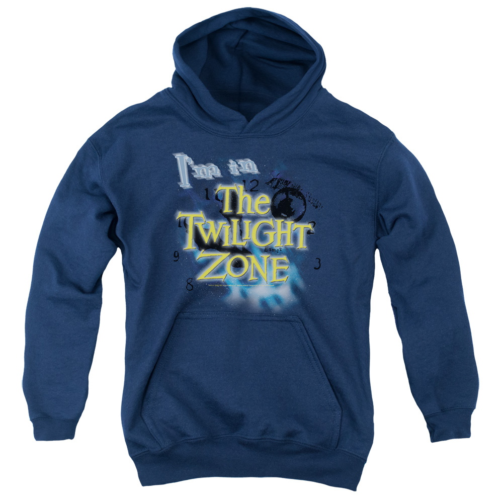 The Twilight Zone I'M In The The Twilight Zone Big Boys Pullover Hoodie