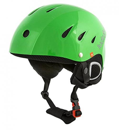 Snow Sports Helmet, Green, X-Large (61 cm) by Lucky Bums