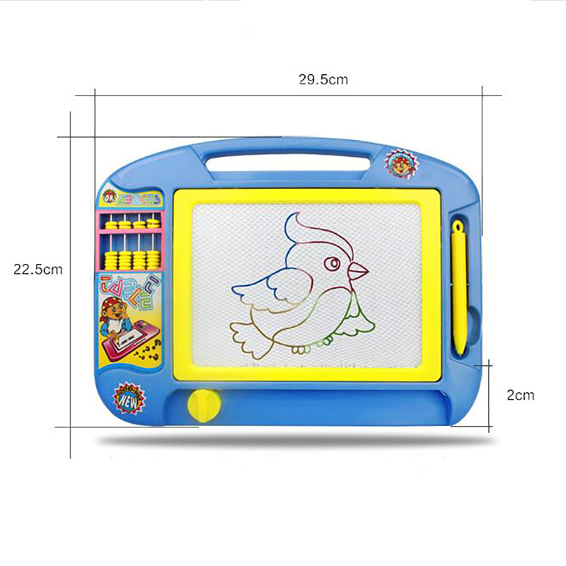 Children Magnetic Drawing Board Erasable Sketch Doodle Pad Writing Art Toy