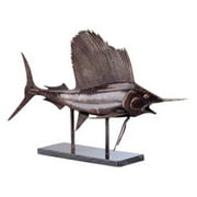 San Pacific International 16H in. Museum Sailfish Statue