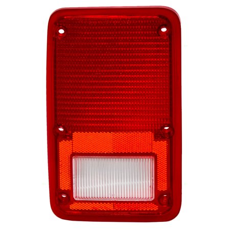 Drivers Taillight Tail Lamp Lens Replacement for 1978-1993 Dodge Plymouth Van 4057973