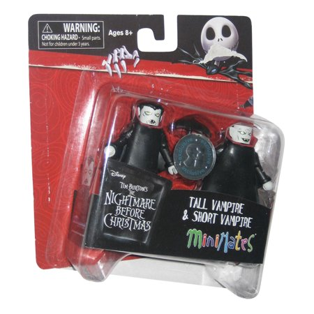 Nightmare Before Christmas Tall & Short Vampire Toys R Us Exclusive MiniMates Figure Set (Toys R Us Montgomery)