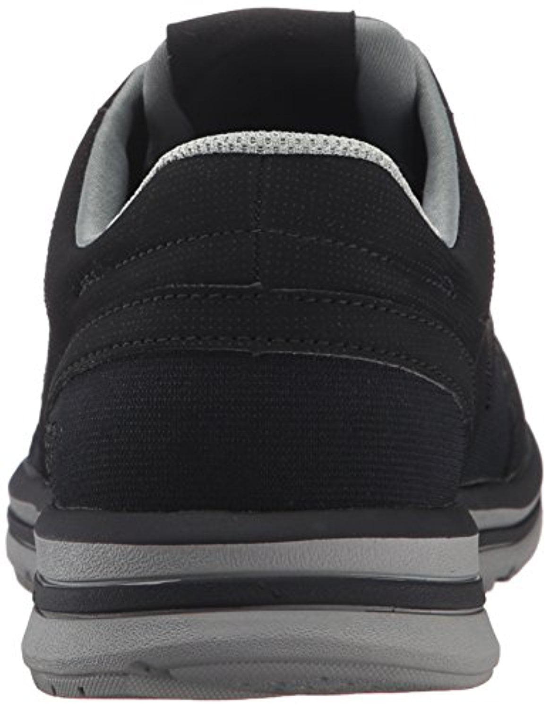 64820 Black Skechers Shoes Men's Memory Foam Casual Comfort Soft Stretch Fabric