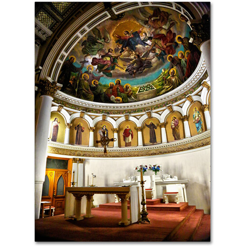 "Trademark Fine Art ""St. Leonards 2"" Canvas Art by CATeyes"
