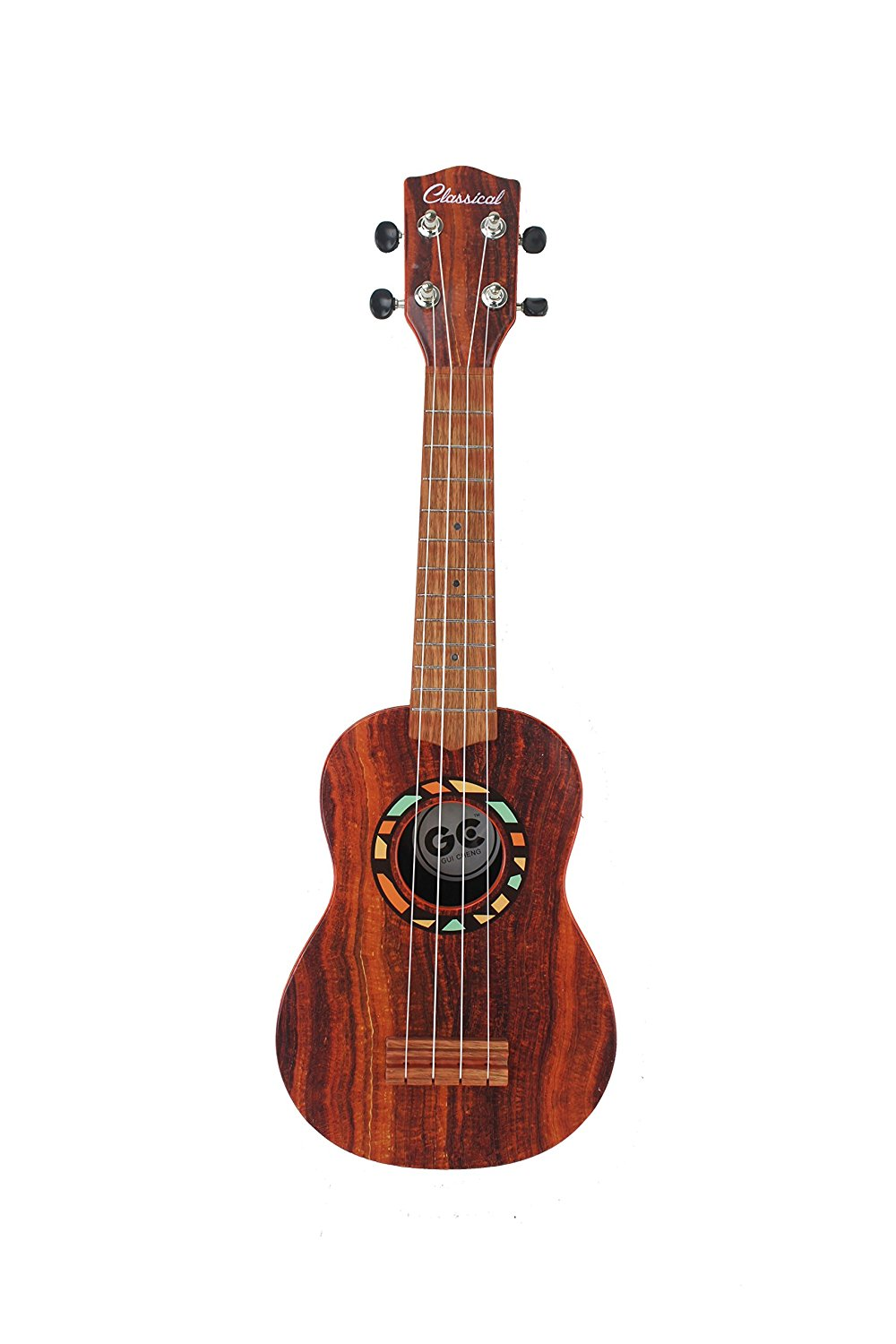 "Bird Song Musician 21"" Stringed Toy Classical Ukulele Guitar Musical Instrument w ... by Velocity Toys"