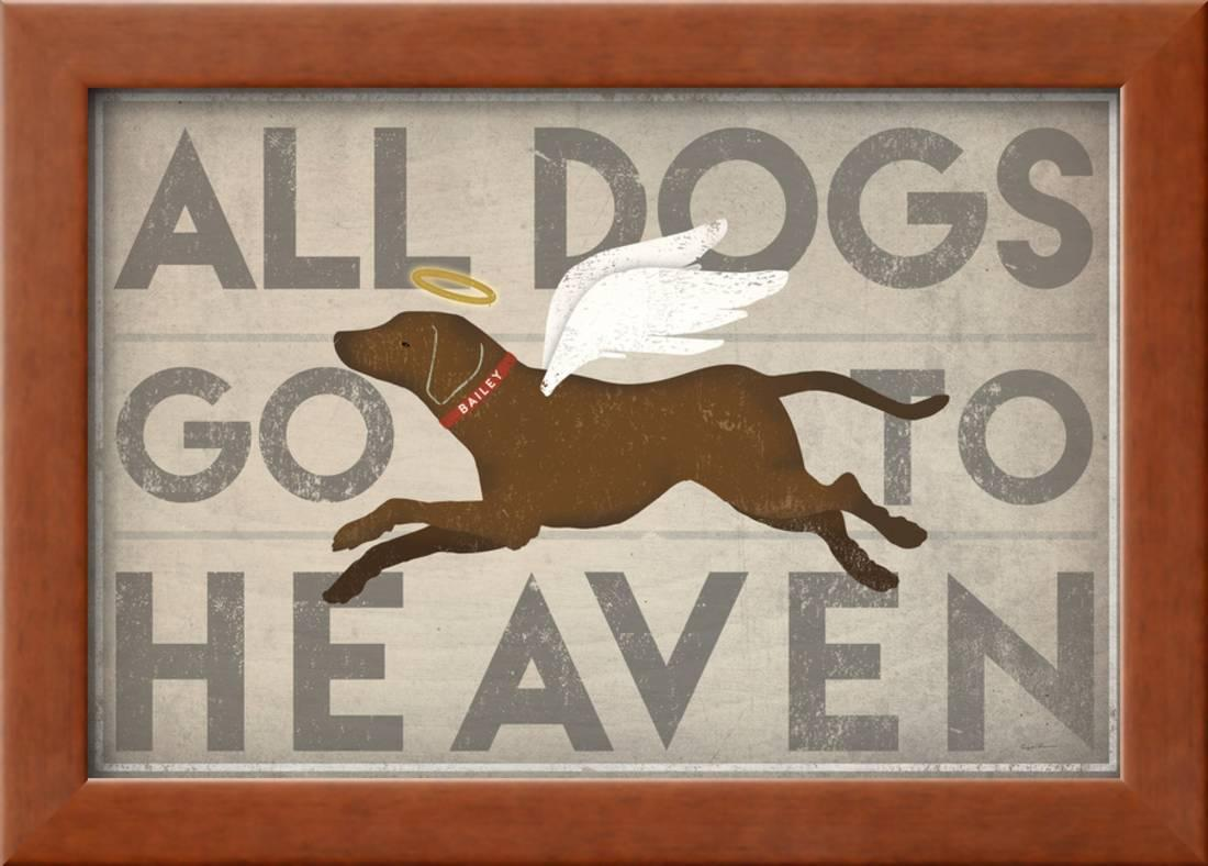 All Dogs Go To Heaven Ii Framed Print Wall Art By Ryan Fowler