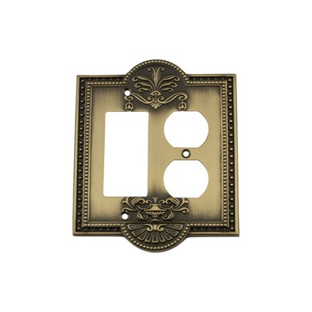 Nostalgic Warehouse Meadows Light Switch Plate