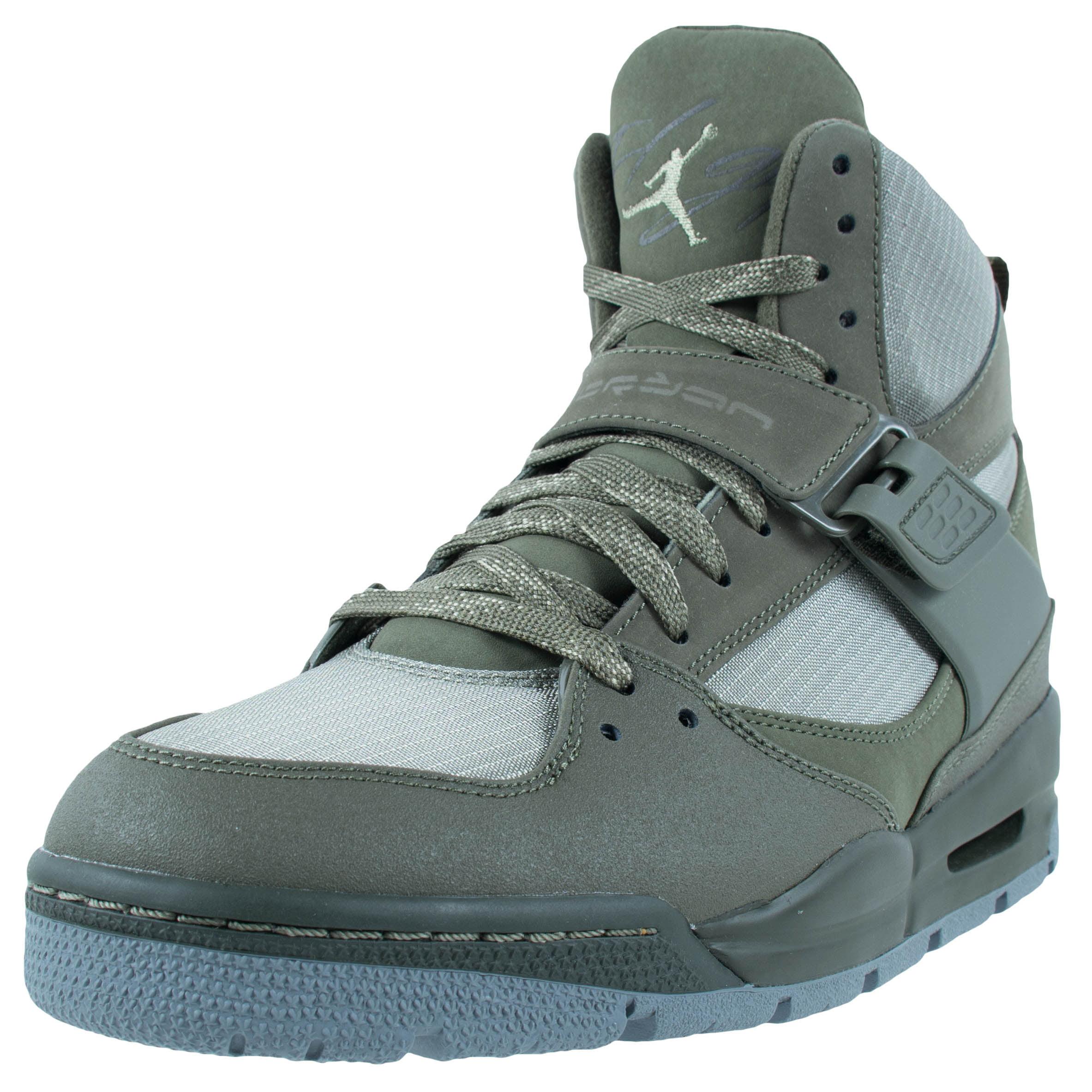 Nike AIR JORDAN FLIGHT 45 TRK SNEAKER BOOTS CARGO KHAKI R...