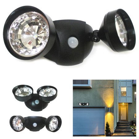Adjustable LED Lights Motion Activated Sensor Indoor Outdoor Cordless Patio Wall ()