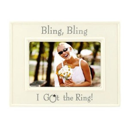 4x6 Bling Bling I Got the Ring PICTURE (Frame Bling)