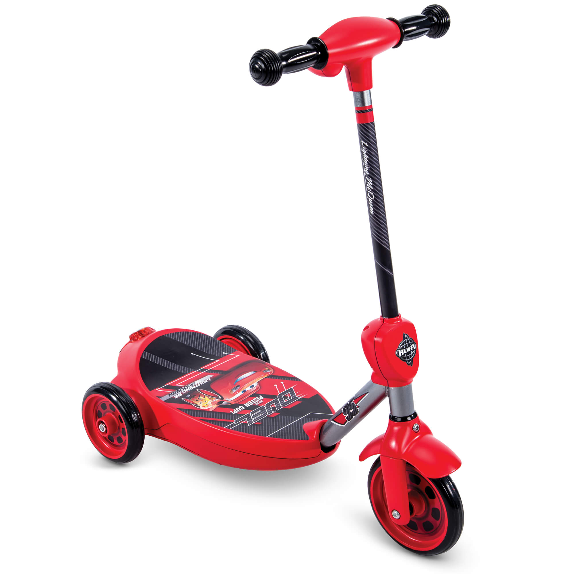 Disney Pixar Cars Lightning Mcqueen Boys 6 Volt Battery Powered Electric 3 Wheel Bubble Scooter By Huffy Com
