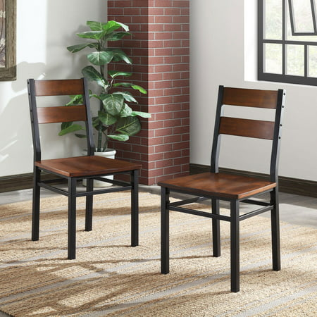 Better Homes & Gardens Austen Dining Chairs, 2-Pack, Vintage Oak ()