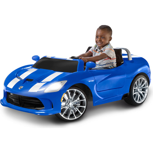 Kid Trax Dodge SRT Viper 12-Volt Battery-Powered Ride-On, Blue