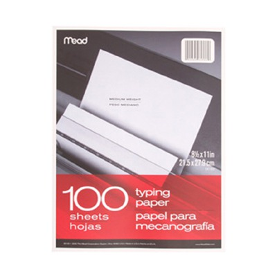 PAPER TYPING 8 1/2 X 11 100 CT SCBMEA39100-13 (pack of 13)