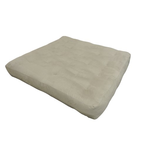 Gold Bond 10'' Cotton Loveseat Size Futon Mattress by Gold Bond
