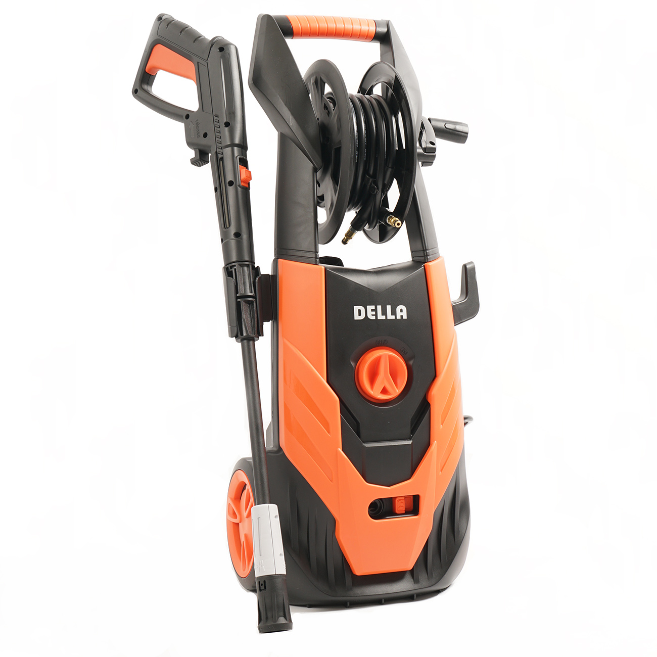 Della 2,300 PSI Burst Electric Pressure Washer 1.4 GPM, Power Hose Reel Gun Turbo