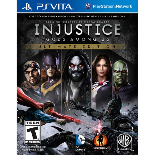 Injustice: Gods Among Us - Ultimate Edition (PSV)