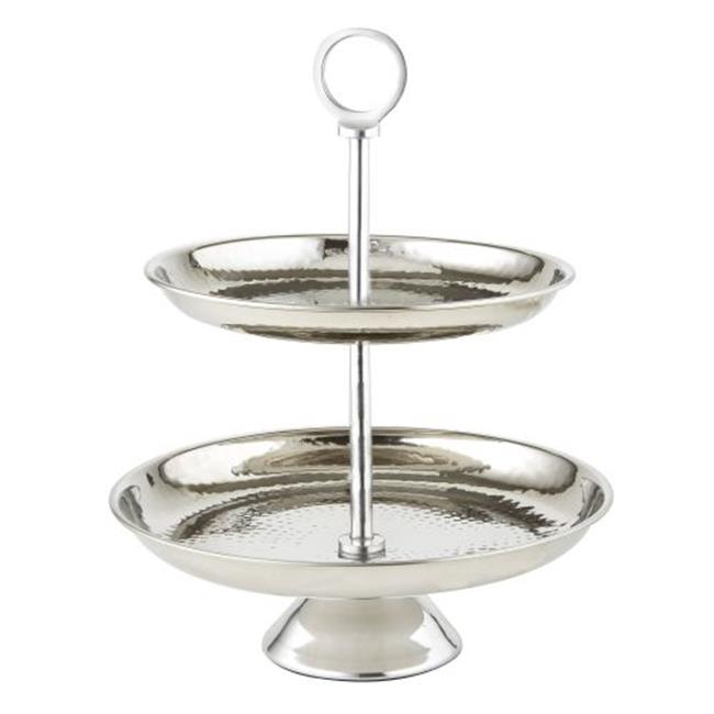Leeber 73068 8.5 & 10.5 in. 2 Tier Hammered Stand - image 1 of 1