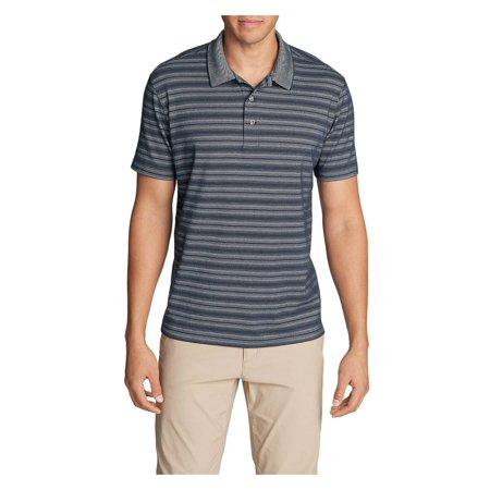 10116a009d0 Eddie Bauer Travex - Eddie Bauer Men's Voyager 2.0 Short-Sleeve Polo Shirt  - Classic Fit, Stripe - Walmart.com