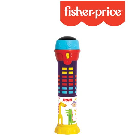 Fisher-Price – Dancing Lights Microphone, Educational Music Toy, Melodies, Light Up Mic, Kids, Toddler, Ages (Toys That Light Up And Play Music)