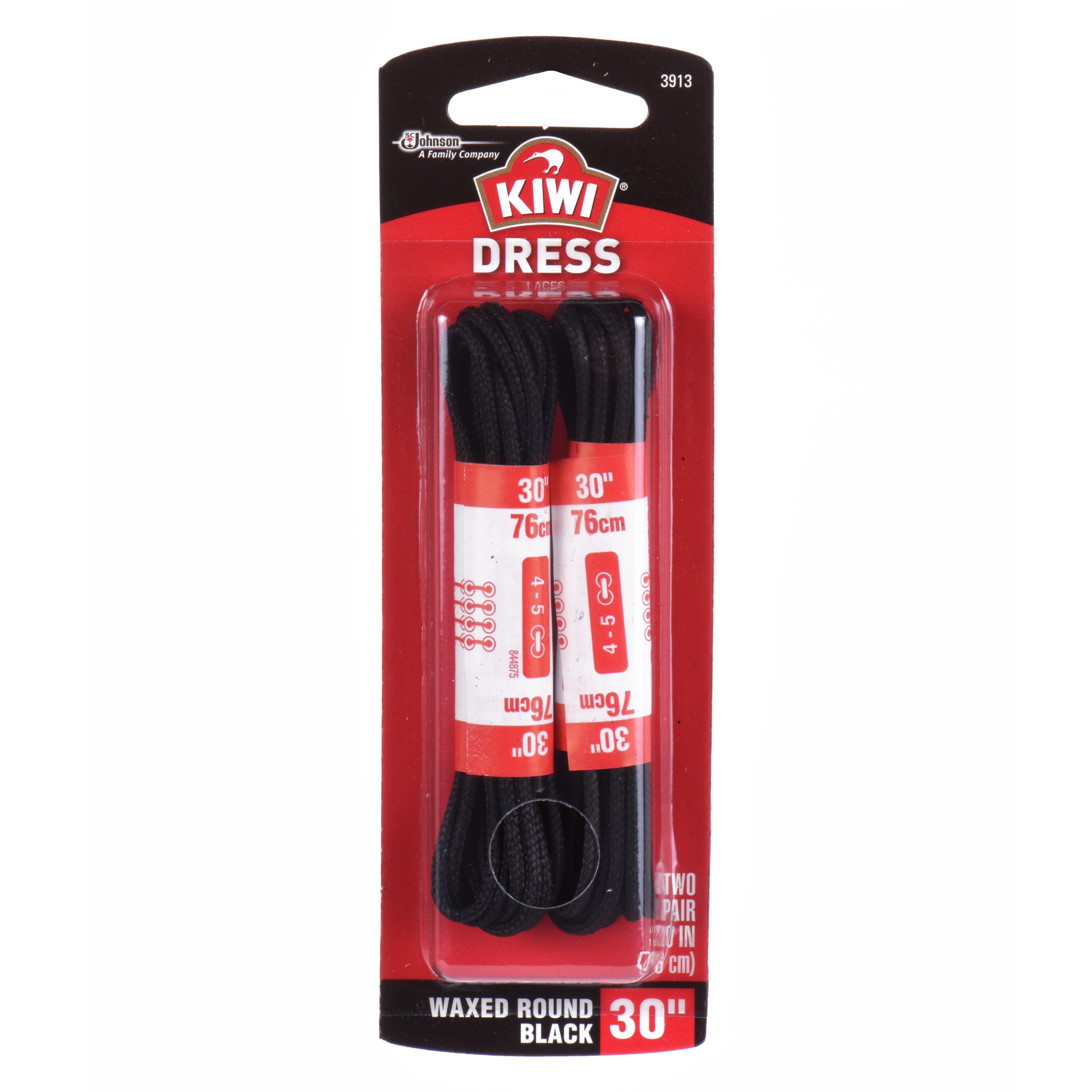 2 Pair Pack RED 27-72 inches FeetPeople Flat Laces