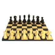 Black Lotus Chess Set - Black/Maple