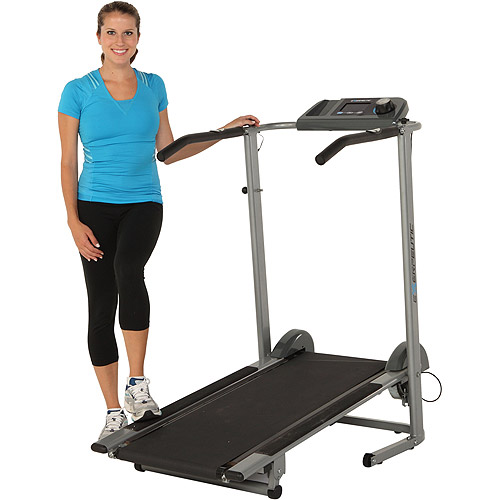Exerpeutic Magnetic Manual Treadmill with Pulse