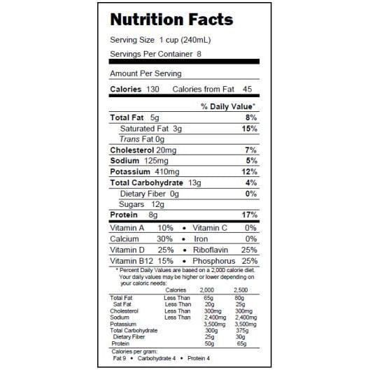 Lactaid 2% Reduced Fat Milk - Walmart.com
