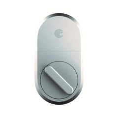 August Home Smart Lock, 3rd Generation Technology, Silver by August Home