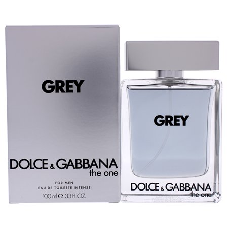 The One Grey Intense by Dolce and Gabbana for Men - 3.3 oz EDT Spray