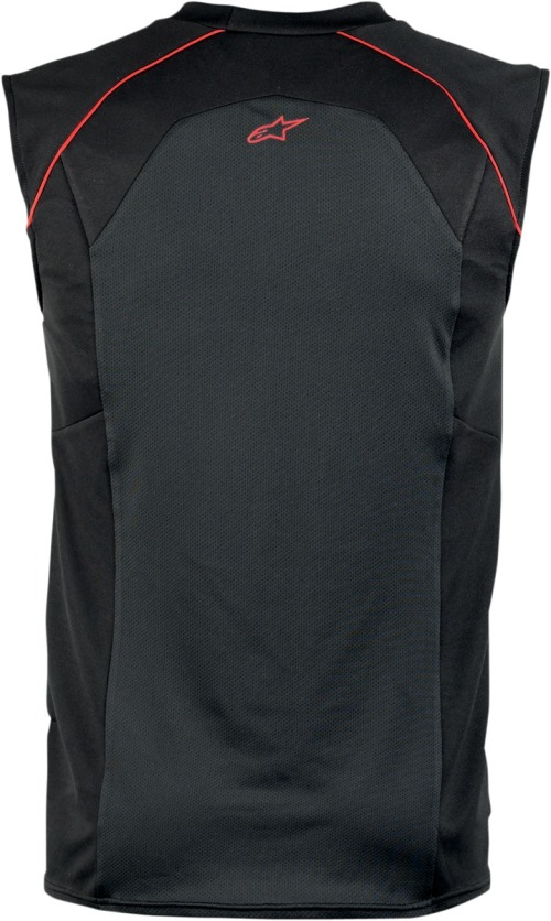 Small Black//Red Alpinestars Mens MX Cooling Motorcycle Riding Vest
